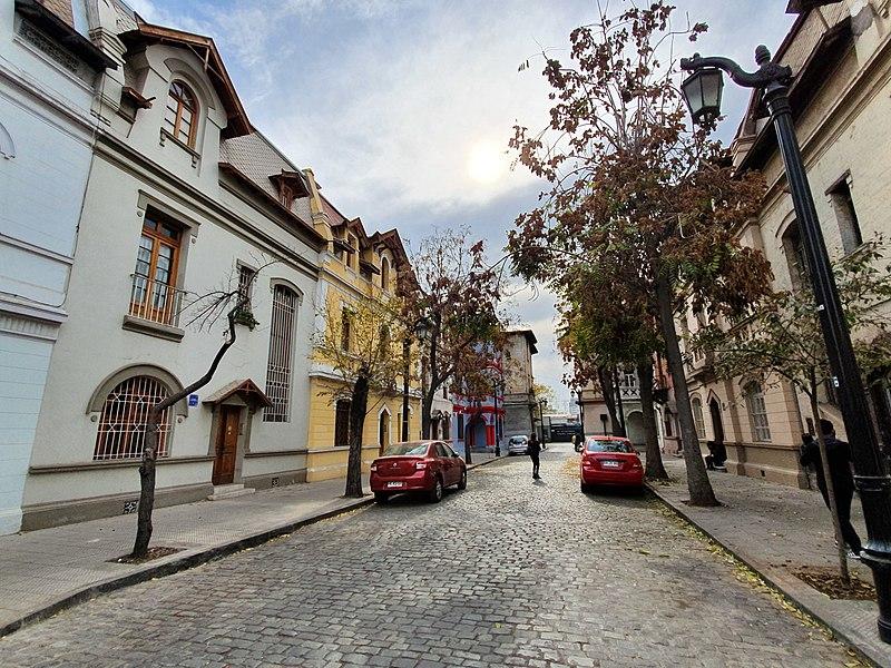 Pasaje Hurtado Rodríguez en Barrio Yungay